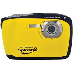 Bell+howell 16.0 Megapixel Wp16 Splash2 Hd Waterproof Digital Camera (yellow)