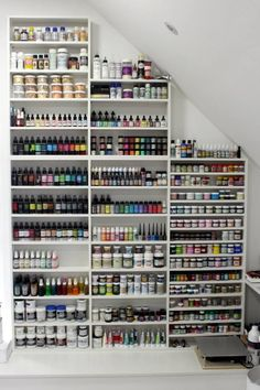 50 most popular art studio organization ideas and decor 34 helpwritingessays. Art Studio Storage, Art Studio Organization, Art Storage, Craft Room Storage, Organization Ideas, Art Supplies Storage, Organizing, Art Studio Design, Craft Room Design