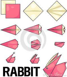 Lapin D'origami Images libres de droits - Image: 31697589