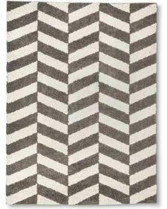 """Room Essentials Herringbone Accent Rug - Gray (4'x5'6"""")"""