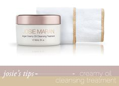 CHICOLOGICAL - Welcome - JOSIE'S TIPS Argan Creamy Oil CleansingTreatment