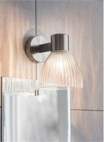 Delicate in style the Campden Bathroom Wall Light is ideally positioned above or beside a mirror