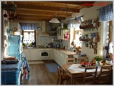 vánoce 2014 English Kitchens, Simply Home, Cottage Homes, Home Decor, New Kitchen, Country Kitchen, Kitchen Dining, Home Kitchens, New Kitchen Cabinets
