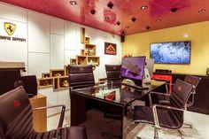Showroom, Corner Desk, Modern, Furniture, Home Decor, Corner Table, Trendy Tree, Decoration Home, Room Decor