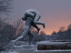 "༻✿༺ ❤️ ༻✿༺ The Sculptures of Norwegian Sculptor Gustav Vigeland in ""The Vigelend Park"" in Oslo, Norway ༻✿༺ ❤️ ༻✿༺"