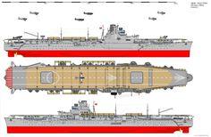 Junyo-class Aircraft Carrier (1943) by ijnfleetadmiral