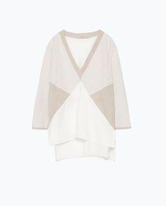 Image 7 of COLOR BLOCK BLOUSE from Zara