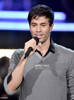 Recording artist Enrique Iglesias speaks onstage during The 57th Annual GRAMMY Awards at the STAPLES Center on February 8, 2015 in Los Angeles, California.