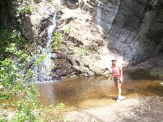 Waterfall Tsitsikama National Park Land Art, South Africa, Waterfall, National Parks, Country Roads, African, Spaces, Garden, Nature