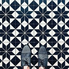 From where I stand #floors #tiles #patterns #architecture #design #interiordesign #texture #tileaddiction #tileideas #tilelovers #floortiles #tilesinspiration by yanyanchan23