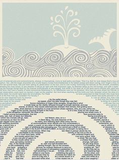 Moby Dick litograph
