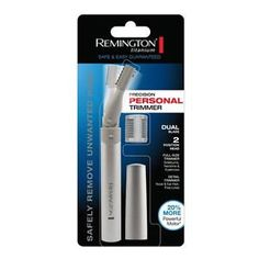Remington Mpt-3600 Pen Trimmer Titanium Coated Dual Blade Hypo-allergenic87