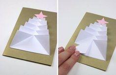 Јелка од папира - Зелена учионица