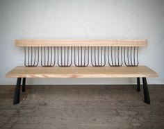 Bradford Woodworking - pitch fork bench