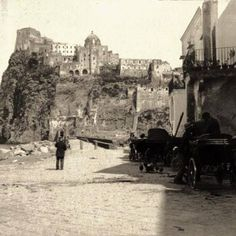 #tbt Ischia island in 1892 #italy #italian