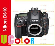 "Nikon D610 DSLR Camera FX-Format -24.3 MP -1080P Video 3.2"" LCD (Body Only) //Price: $1345.50//     #storecharger"