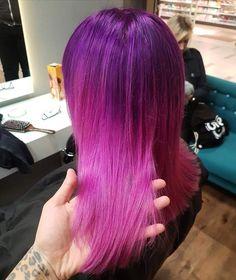 #balayage #balayagehair #pinkhair #pink #violet #longhair