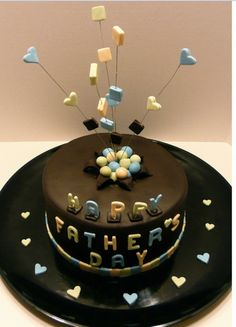 Creative Father Day Cake & Desserts_22