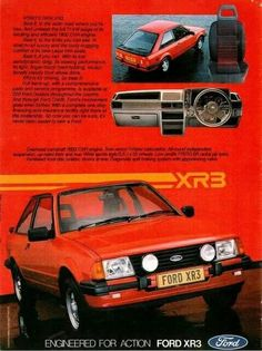 Cosworth - Ford Escort can't find an image but mine was all white Custom Classic Cars, Ford Classic Cars, Ford Rs, Car Ford, Ford Lincoln Mercury, Bmw, Subaru, Volvo, Psa Peugeot