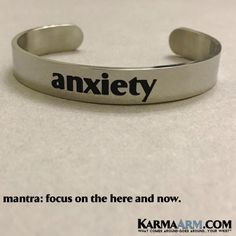Anxiety Bracelets. #Anxiety #SelfCare #wellness #Bracelets
