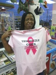 Visit www.thuggizzlecares.org For more information about Thuggizzle's Non Profit Organization.