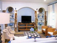 #Décoration #salon #rustique ~ Décoration Salon / Décor de Salon