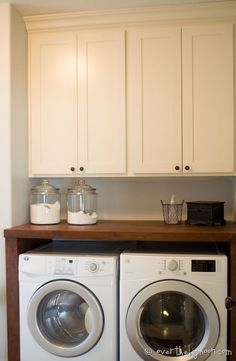 Laundry Room Renovation | Over The Big Moon