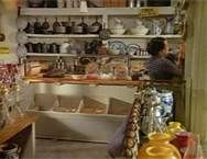 I love Oleson's Mercantile.  I would love a kitchen like it.