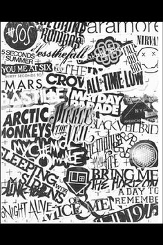 loveee except why is five seconds of summer on there. they are not punk or rock or anything.