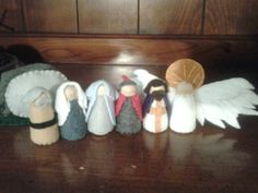 The Easter Story Peg Dolls Resurrection of by sugarplumhollow, $30.00