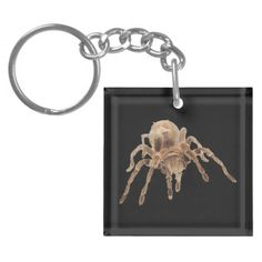 Tarantula plain Key Chain Acrylic Keychain