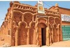 Niger  Una casa ad Agadez.