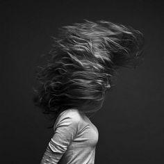 Beautiful Flying Hair
