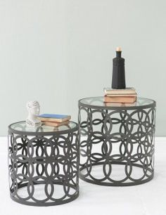 Nest of 2 Stacking Tables