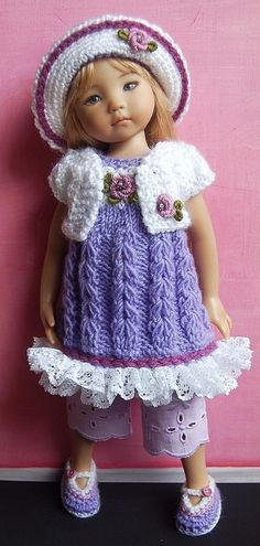 """Outfit EFFNER LITTLE DARLING DOLL 13 """"+  SHOES. Ends 3/22/15"""