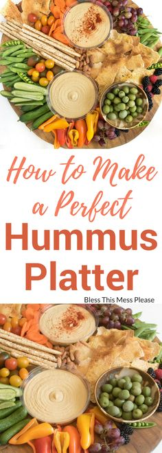 How to Make a Perfect Hummus Platter