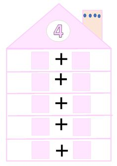 Kindergarten Math Activities, Teaching Math, Learning Activities, Number Bonds To 10, School Frame, Math Numbers, First Grade Math, Math For Kids, Numeracy