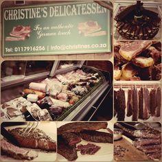 Biltong Shop and Austrian / German Butchery / Delicatessen served in Austrian / German / Dutch / English / Afrikaans