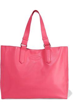Lanvin | Shopper leather tote | NET-A-PORTER.COM