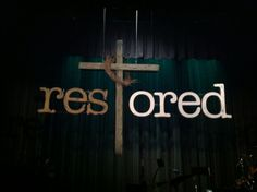 church Easter stage   Easter set design - Lake City Community Church, ...   Church Stage De ...