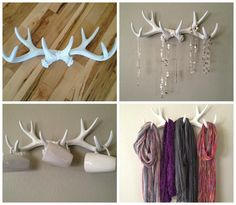 4 Totally Hipster Home Decor Trends-the only time in my life I have EVER thought of putting antlers on my walls!!!
