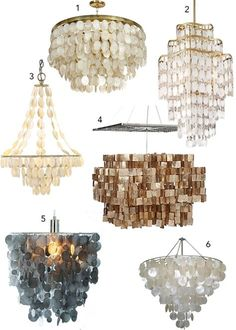 Quite simply the most luxe lush and versatile capiz chandeliers quite simply the most luxe lush and versatile capiz chandeliers available this classic design staple can be made to almost any size and shape mozeypictures Choice Image
