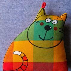 Gatos Consentidos: Gatos de tela