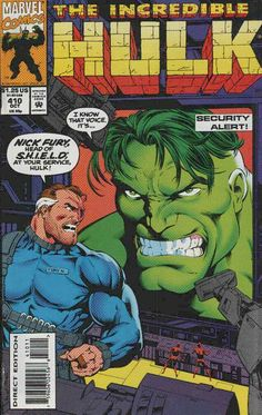 Incredible Hulk # 410 by Gary Frank & Cam Smith