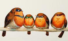 Robin Robins by Qinni.deviantart.com on @deviantART