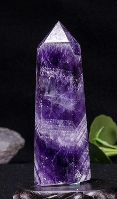 This listing is for Chevron Banded Amethyst Tower. Gemstone: Amethyst Shape: Ball Size(mm): weight(g): Quantity: 1 point Color:purple Amethyst Quartz, Quartz Crystal, Towers, Lava Lamp, Chevron, Shapes, Band, Gemstones, Crystals