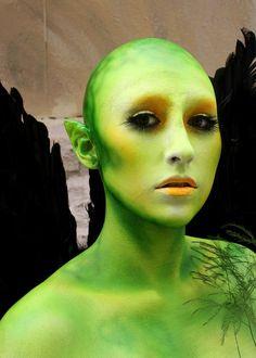 Fantasy Makeup | Caitlin Wren Makeup – Alien