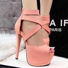 Hot Sale Sexy Roman Style Platform Peep Toe Strappy High Heel Sandal Women Shoes | eBay