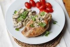Chicken Breasts in Champagne Sauce