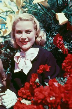 Grace Kelly at Cannes Film Festival in France, 1955